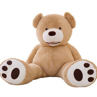 130 cmUSA 거대한 곰 피부 곰 헐 슈퍼 품질 도매