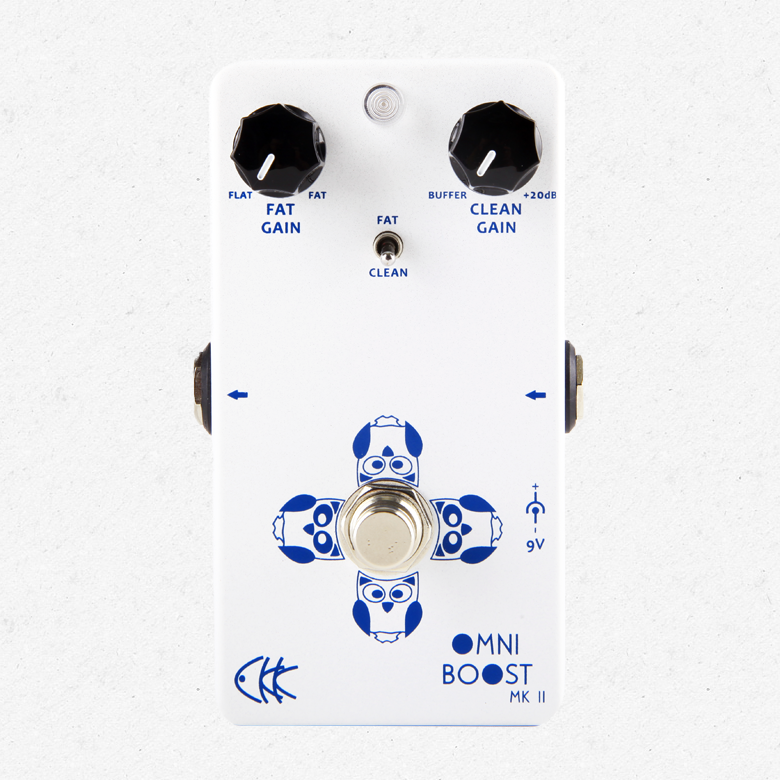 CKK Electronics Omni Boost MK II Dual Boost & Buffer Guitar Effect Pedal аксессуар moon mk ii