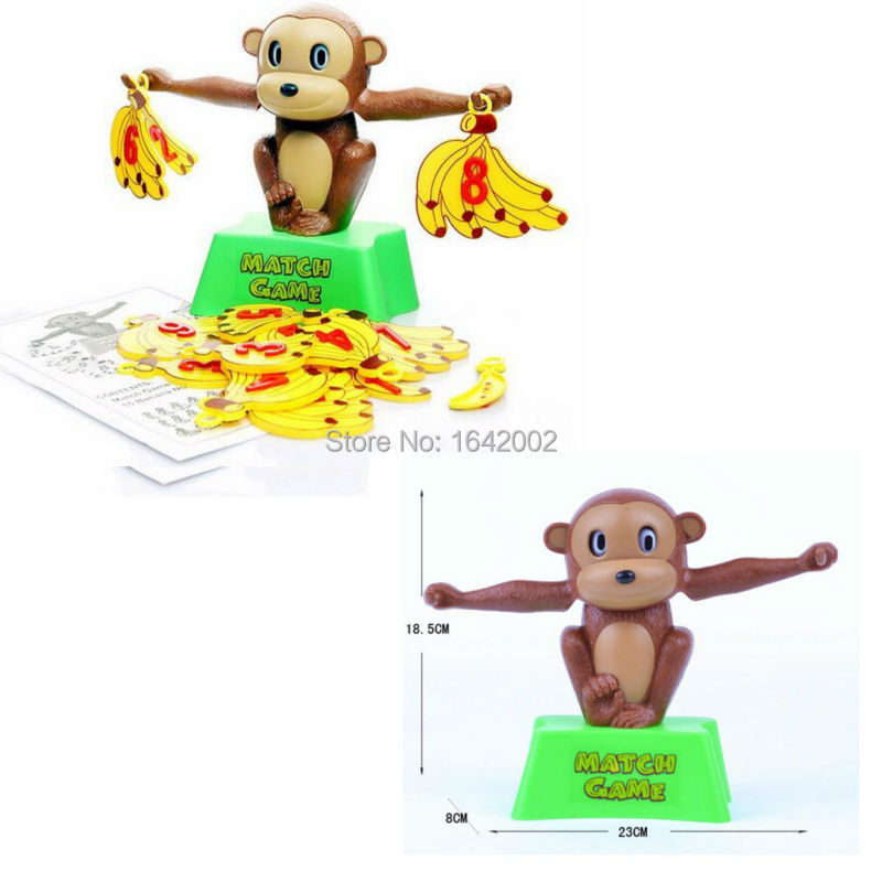 The Best Match Game Board Game Monkey Match Math Balancing Scale Number Balance Game Children Educational Toy To Learn Add And Subtract Fixing Prices According To Quality Of Products Learning & Education Math Toys