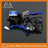 CNC Brake Lever Master Cylinder Cable Clutch Perch For Yamaha WR250F WR450F WR250X WR250R TTR250 DT250