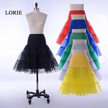 38f6d77ee1d49 Hot Sale Short Petticoat For Wedding A Line Vintage Tulle Petticoat  Crinoline Underskirt Rockabilly Swing Tutu Skirt Slip
