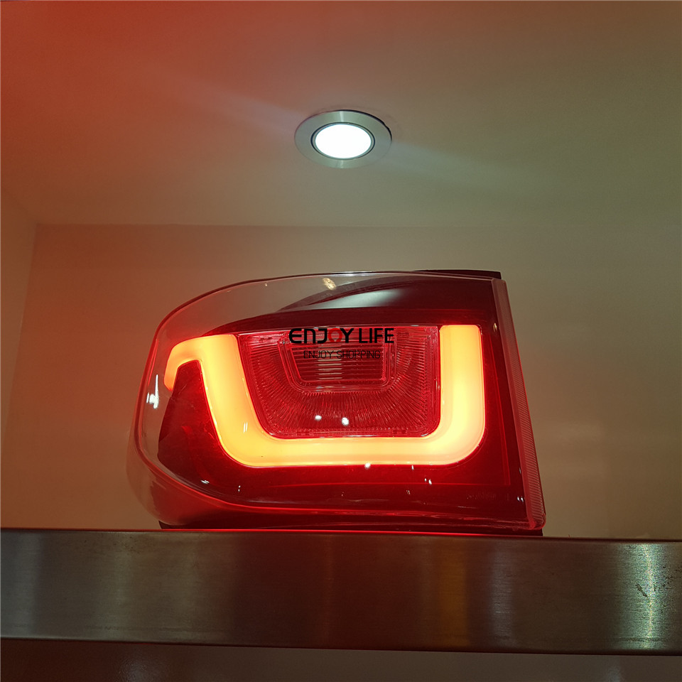 2pcs Rear LED Strip Tail Light Brake Lamp Turn Signal Upgrade Kit For Toyota FJ Cruiser 2007-2014
