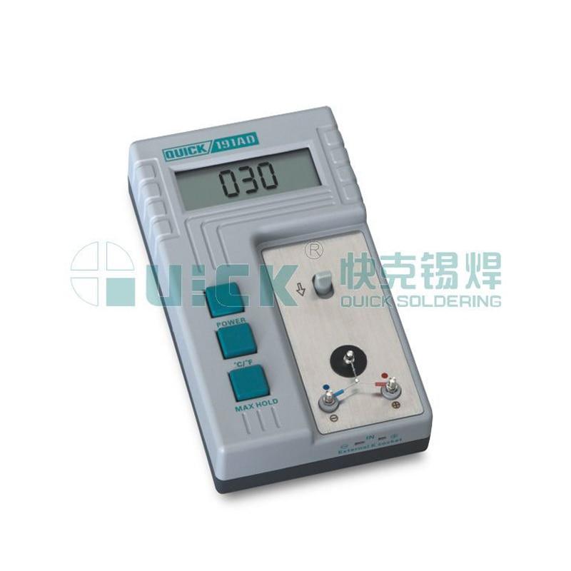 QUICK / crack temperature tester thermometer 191AD genuine iron temperature teste inpower pro 11 5 crack unlimited installation