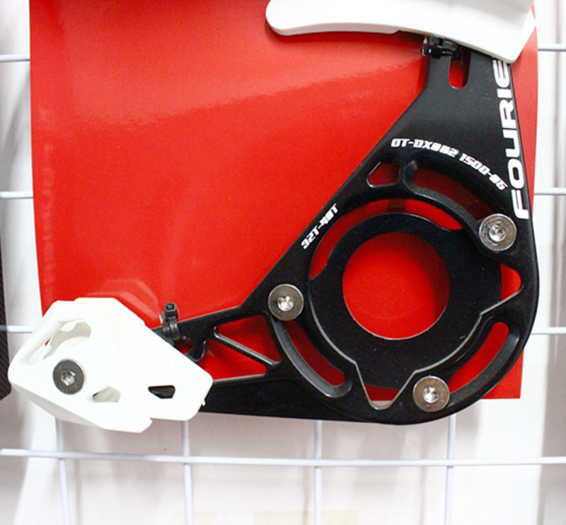 1pcs CNC Fouriers bike bicycle Chain Guards Chain Guide 32-40T BB Adaptor Included ISCG03/05