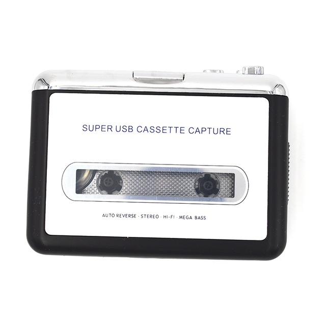 Desxz 002 USB Tape to MP3 Audio Converter Tape to PC USB Cassette to MP3 iPod CD Converter Capture Audio Music Player Adapter