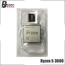 CPU Processor Amd Ryzen AM4 3600-3.6 Six-Core Twelve-Thread Ghz 7NM But 65W New L3--32m