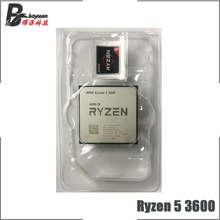 CPU Processor R5 Amd Ryzen AM4 Six-Core 3600-3.6 100-000000031-Socket New Ghz 7NM 65W