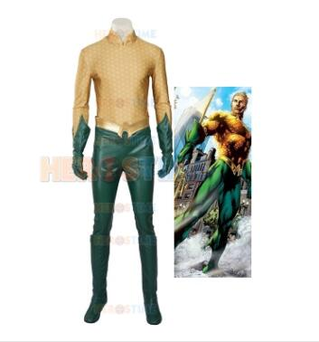 Classique la ligue de Justice Costume de Cosplay Aquaman