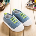 Children Casual Canvas Shoes Baby Boys Breathable Sneakers Little Girls Sports Shoes Kids Slip-On Shoes C182
