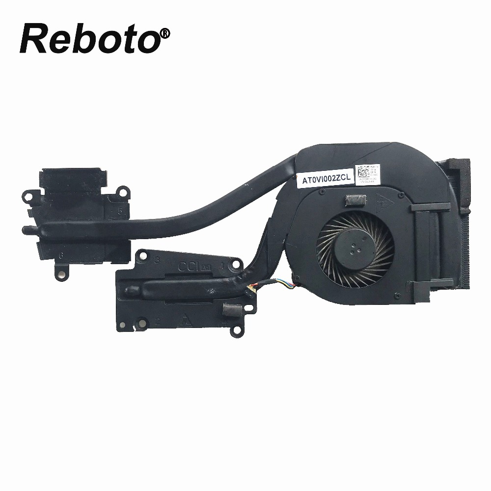 Reboto оригинал для ноутбука DELL E6540 радиатор охлаждения процессора AT0VI002ZCL CN-072XRJ 072XRJ 72XRJ 100% тестирование Быстрая доставка