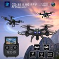 New Cheerson CX-35 CX35 FPV RC Drone 5.8G With 2MP HD Camera Height Hold Mode RC Quadcopter Low voltage protection Helicopter