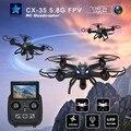 Novo Cheerson CX-35 CX35 FPV RC Zangão 5.8G Com câmera de 2MP Câmera HD Altura Modo Hold RC Quadcopter proteção de Baixa tensão helicóptero