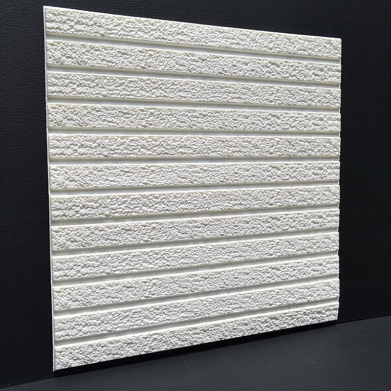30/60 cm 3D Wall Sticker PE Foam Stickers Safty Home Decor Wallpaper DIY Wall Decor Brick Adhesive For Kids Bedroom Decorativ
