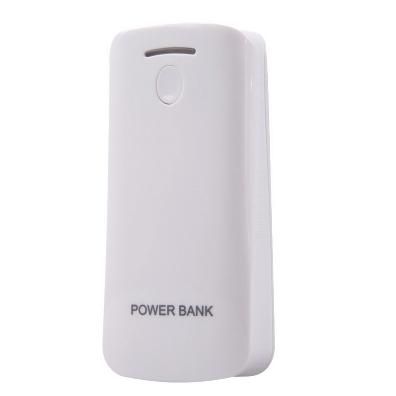 1PCS 2* <font><b>18650</b></font> <font><b>Battery</b></font> Charger <font><b>Box</b></font> Power Bank White For Phone LED Flashlight USB DIY