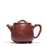 220ML Purple clay yixing teapot Dahongpao handmade kettle creative drinkware suit tieguanyin dahongpao puer