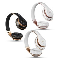 3 Color 6S 3 5MM Folding Wireless Bluetooth Headphones Stereo Heavy Bass Earphones Ultimate TF Card