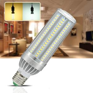 E27 LED Corn Light Bulb 25W 35W 50W SM5730 Fan Cooling Constant Current LED Lamp AC85-265V