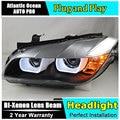Car Styling Head Lamp for BMW E84 X1 led headlights 2009-2014 E84 led drl H7 hid Bi-Xenon Lens low beam