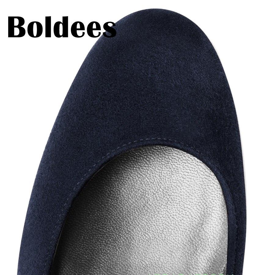Boldee 2018 платформа круглый носок кусок на высоком каблуке Женская обувь пикантные Высокие каблуки Офисные женские туфли для свиданий вечерние свадебные Насосы женская обувь - 3