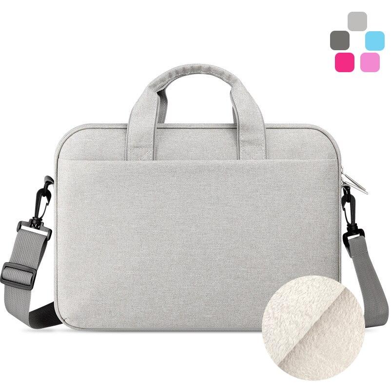 2017 New Waterproof Men Women Briefcase Shoulder Messenger Laptop Bag 11 12 13 14 15 inch for Macbook Air Pro Notebook Bags