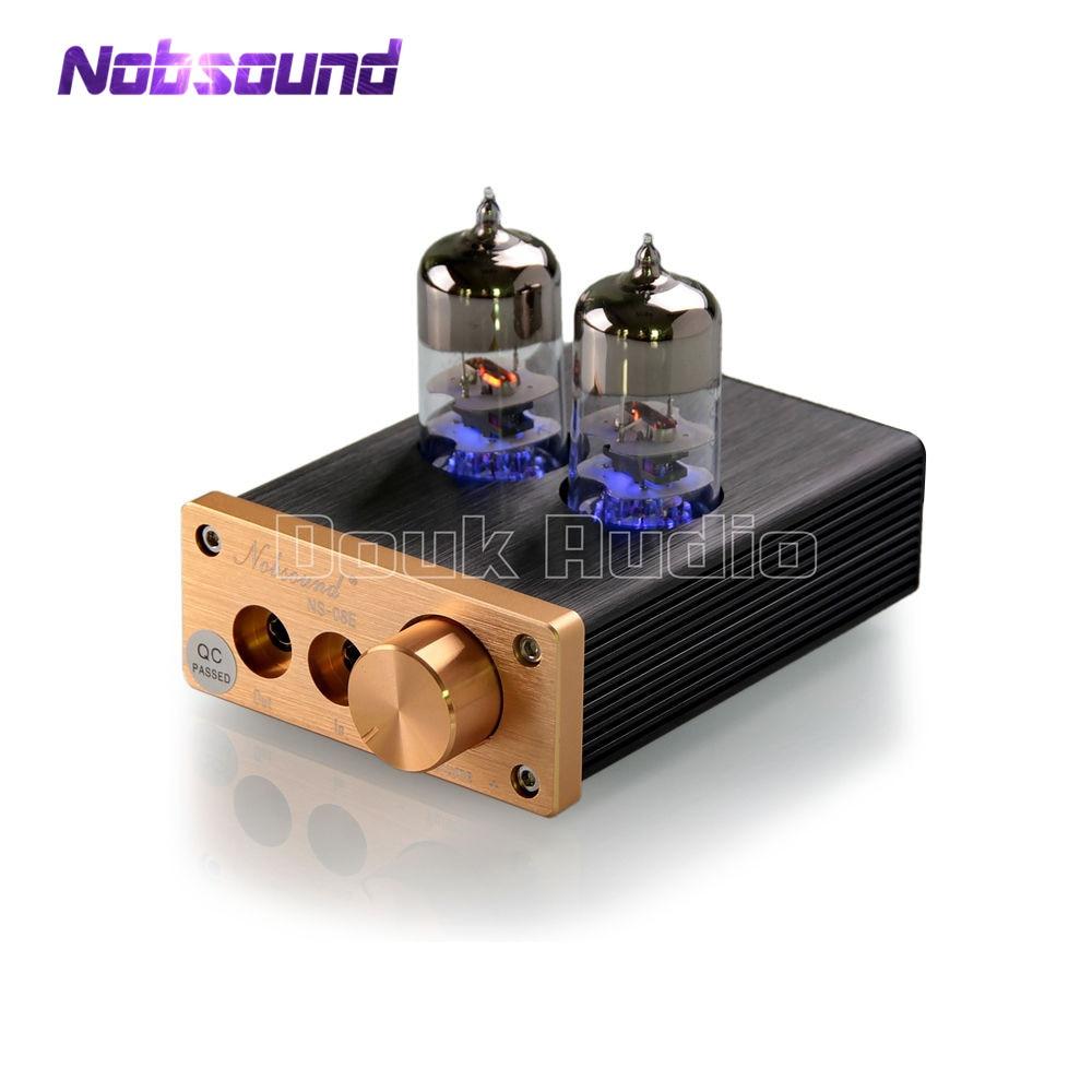 Hot Sale 2018 New Nobsound Audio Mini 6j9 Vacuum Tube Amplifier Hi Fi Headphone Stereo Hifi Amp Pre