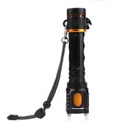 2000Lm Super Bright LED Flashlight CREE XML T6 LED Flashlight 18650 Battery Charger Case