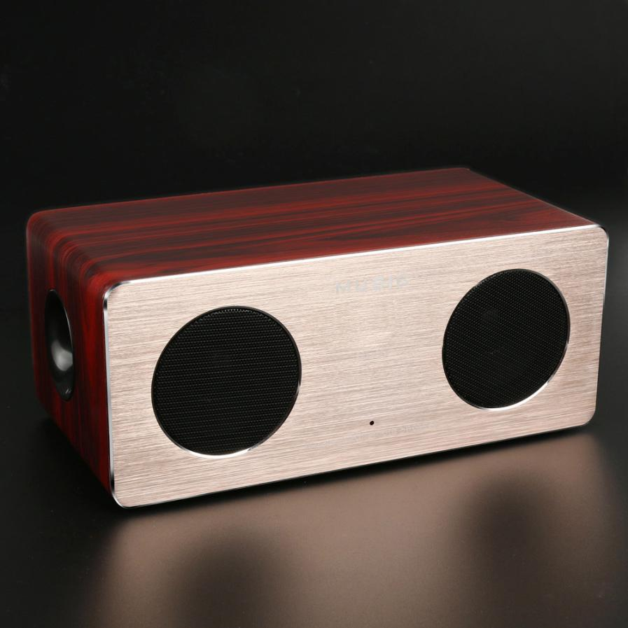 HIPERDEAL Portable Audio Video Speakers Retro Wood Wireless Bluetooth Speaker HiFi Speaker Bluetooth 3D Loudspeakers jan3