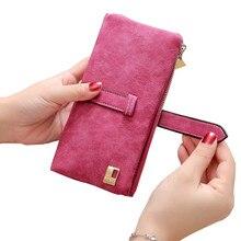 Модный Роскошный бренд, женские кошельки, Матовый кожаный кошелек, Женский кошелек для монет, кошелек, женский держатель для карт, браслет, сумка для денег, маленькая сумка