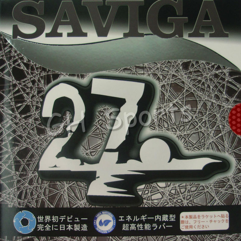 SAVIGA NO.27 Long Pips-Out Table Tennis PingPong Rubber Without Sponge Topsheet OX