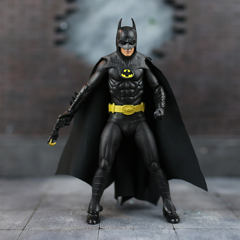 Batman 25th Anniversary Ver. Action Figure 1989 Classics Style Batman Doll PVC ACGN figure Garage Kit Toy Brinquedos Anime 15CM
