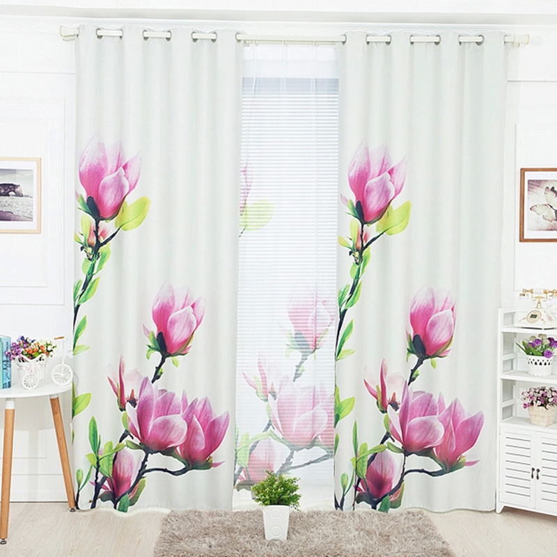 Window Curtains For Living Room Luxurious 3d Curtains