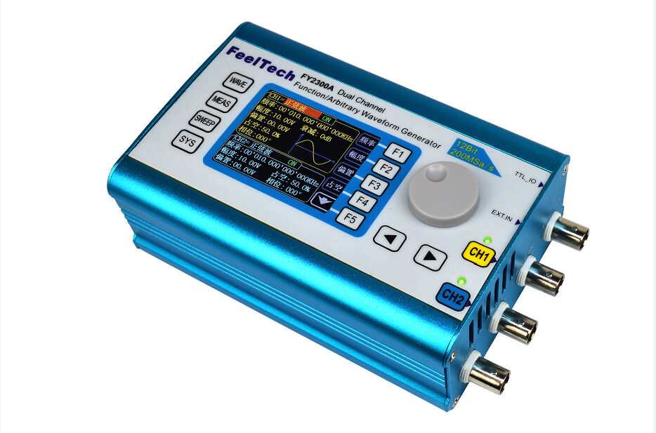 2MHz Arbitrary Waveform Dual Channel Signal Generator 200MSa/s Frequency Counter2MHz Arbitrary Waveform Dual Channel Signal Generator 200MSa/s Frequency Counter