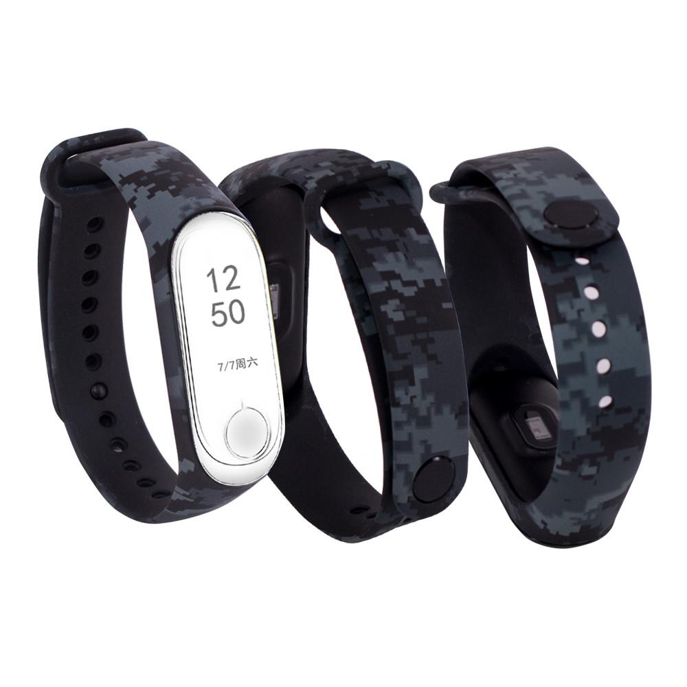 Silicone Wearable Devices New Colorful Strap For Xiaomi Mi Band 3 Wearable Smart Bracelet Accessories Replacement Band