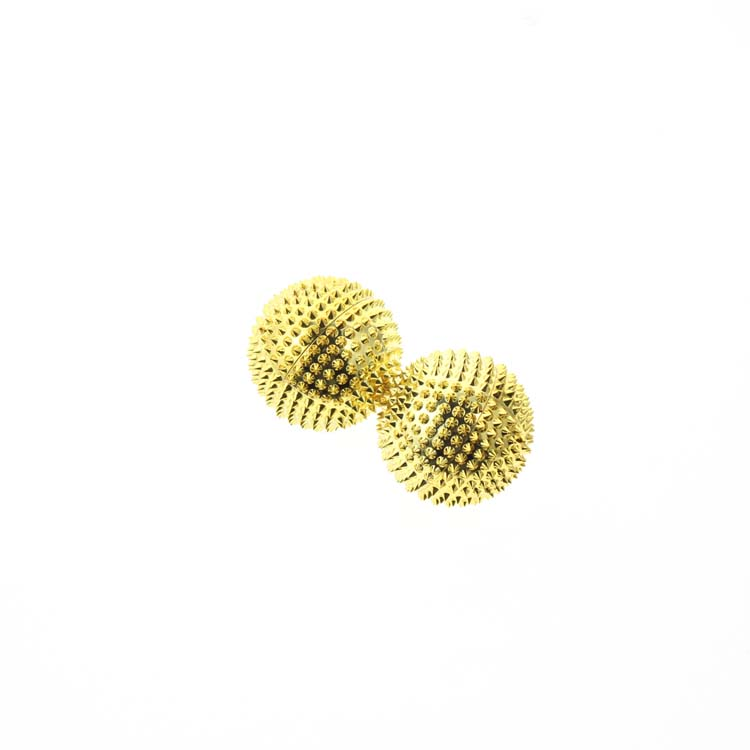2Pcs / Σετ 4,5cm χρυσό μεταλλική - Φροντίδα υγείας - Φωτογραφία 2