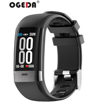 New smart men's watch clock ECG smart sports bracelet heart rate blood pressure pedometer connected Bluetooth Android ios