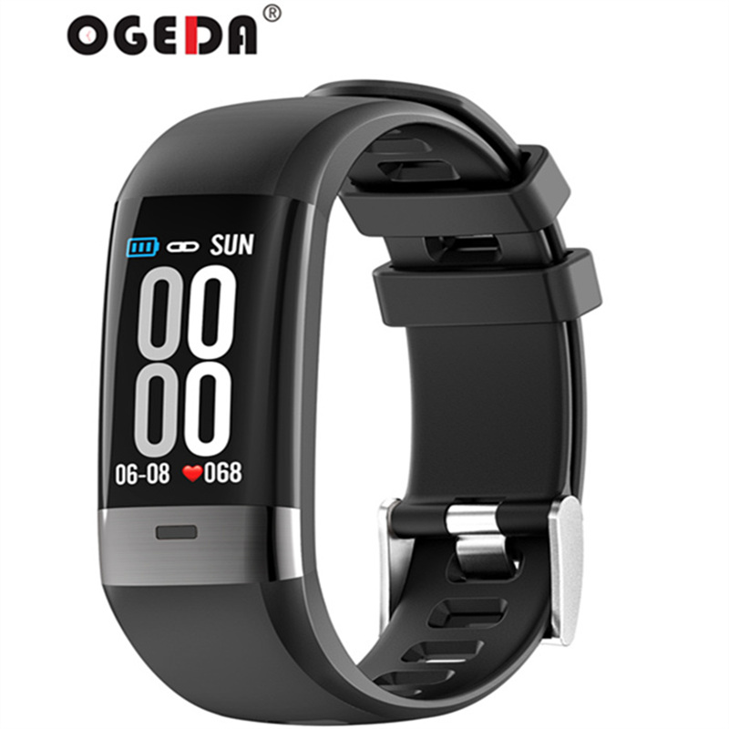 New smart men's watch clock ECG smart sports bracelet heart rate blood pressure pedometer connected Bluetooth Android ios стоимость