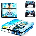 Dragon Ball Z Design Sticker for PS4 skin PVC vinyl Cover For Sony Playstaion 4 Console+Dualshock 4 Skin Protective Skins