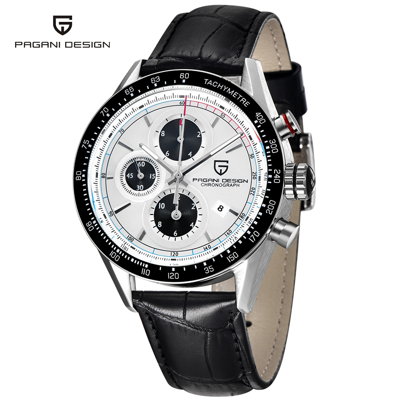 PAGANI Luxury Brand Fashion Men Watches Stainless Steel Quartz Hours Date Clock Male Military Casual Waterproof Wrist Watch xinge top brand luxury leather strap military watches male sport clock business 2017 quartz men fashion wrist watches xg1080