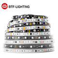WS2811 5050 SMD RGB Strip Addressable 30/48/60/96/144leds/m Led Pixels External 1 Ic Control 3 Leds Normal/Bright 5m DC12V