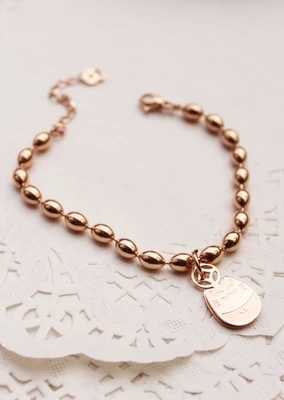 YUN RUO Retro Fortune Lucky Cat Bracelet Fine Jewelry Titanium Steel Rose Gold Color Valentine Gift Free Shipping Never Fade