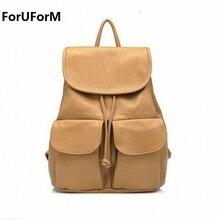 2017 новое поступление женские рюкзаки женский рюкзак Путешествия Школьные сумки Искусственная кожа Женская Повседневная День пакеты LI-069
