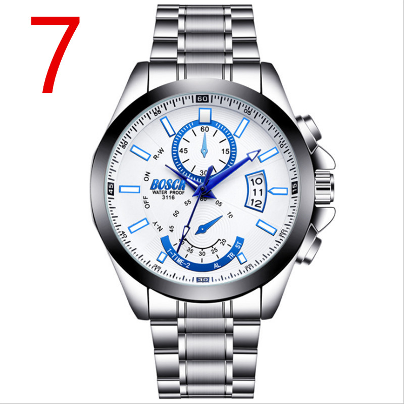 men New Fashion Mechanical Watch Stainless Steel New men's business quartz watch in 2018, simple and fashionable.83
