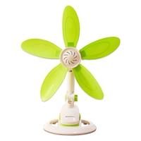 Folder Mute small fan student dorm room office Table fan bedside breeze Mini Bedroom Electric fan Small size soft