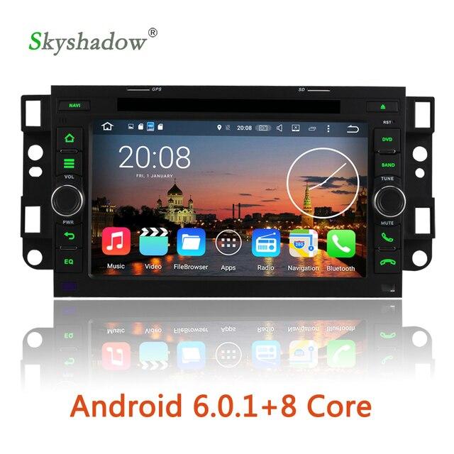 HD 1024*600 Android 6.0 Octa Rdzeń 2G RAM Samochodowy Odtwarzacz DVD GPS Radio Dla Chevrolet Epica Lova Aveo Captiva Spark Optra Tosca Kalos