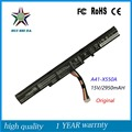 New  Original 15V 2950MAH Laptop Battery for ASUS X450J X450JF K550E A41-X550E