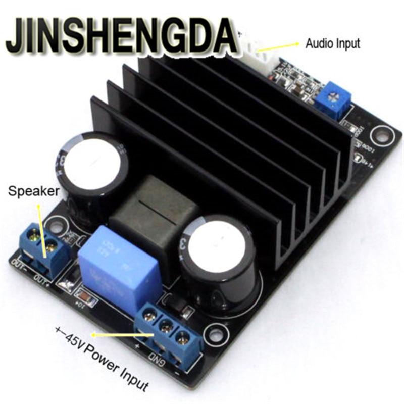 JINSHENGDA Amplificateur IRS2092 Classe D 200 W Mono Amplificateur de Puissance Audio AMP Assemblé Conseil