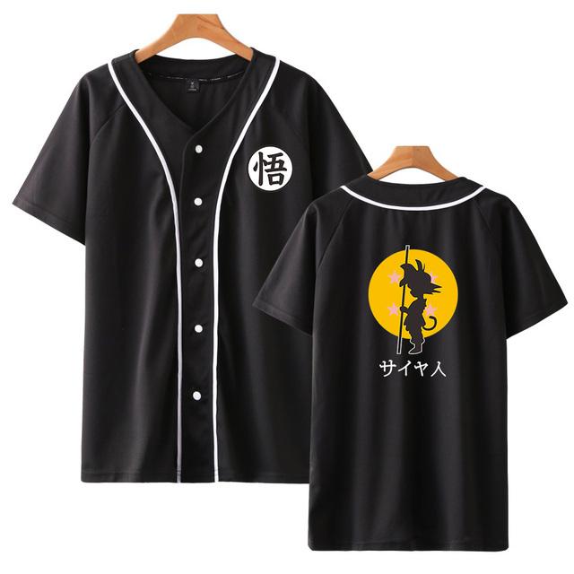 GOKU BASEBALL T-SHIRT (2 VARIAN)