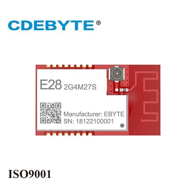 SX1280 27dBm وحدة لورا 2.4 GHz جهاز إرسال واستقبال لاسلكي E28 2G4M27S SPI طويلة المدى BLE 2.4 ghz BLE rf جهاز استقبال 2.4 GHz