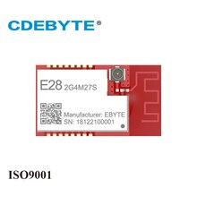 SX1280 27dBm LoRa Modul 2,4 GHz Wireless Transceiver E28 2G4M27S SPI Lange Palette BLE 2,4 ghz BLE rf Sender 2,4 GHz empfänger