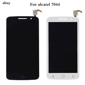 Image 1 - עבור Alcatel One Touch פופ 2 פרימיום 7044 OT7044 7044X 7044Y 7044K 7044A LCD תצוגת עצרת מגע החלפת מסך חלקי